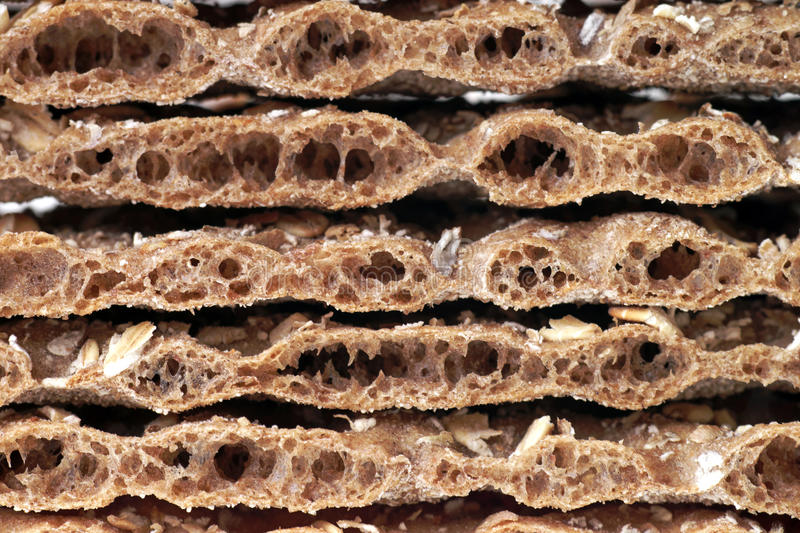 Download Crispbread stock image. Image of cereal, hearty, stack - 39502981