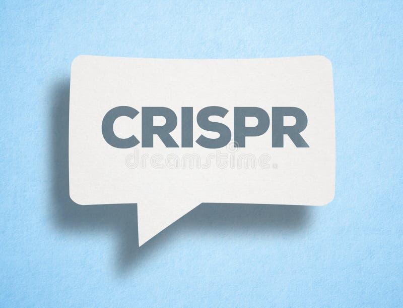CRISPR-genomteknik royaltyfri illustrationer