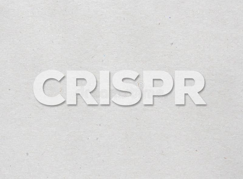 CRISPR-genomteknik stock illustrationer