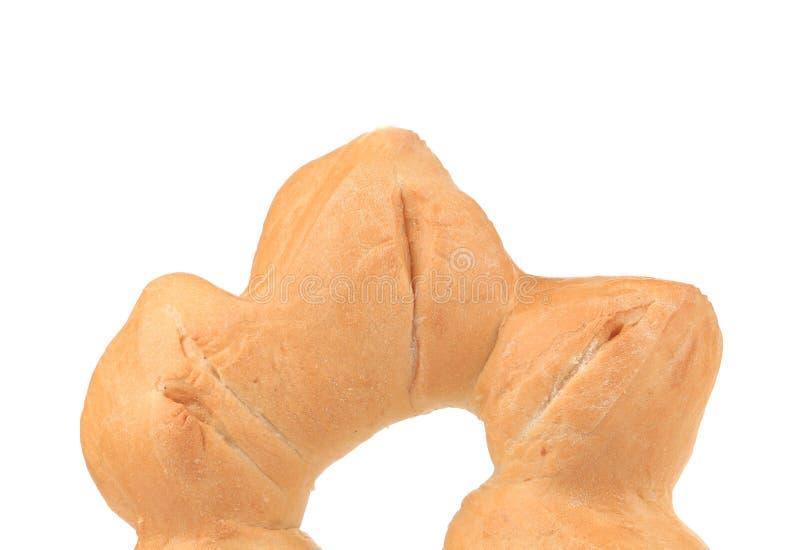 Crispy świeżego chleba zakończenie obraz royalty free