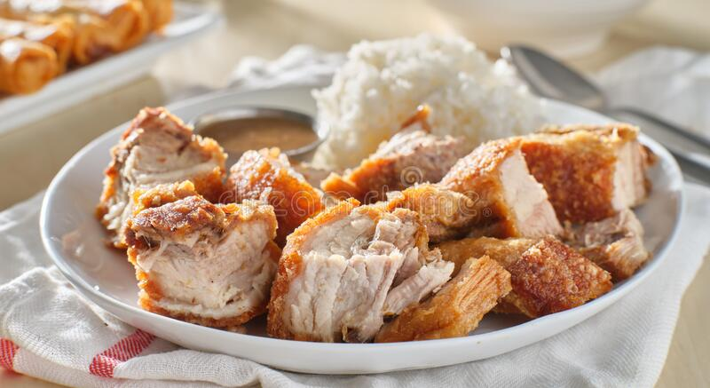 Lechon Kawali Photos Free Royalty Free Stock Photos From Dreamstime