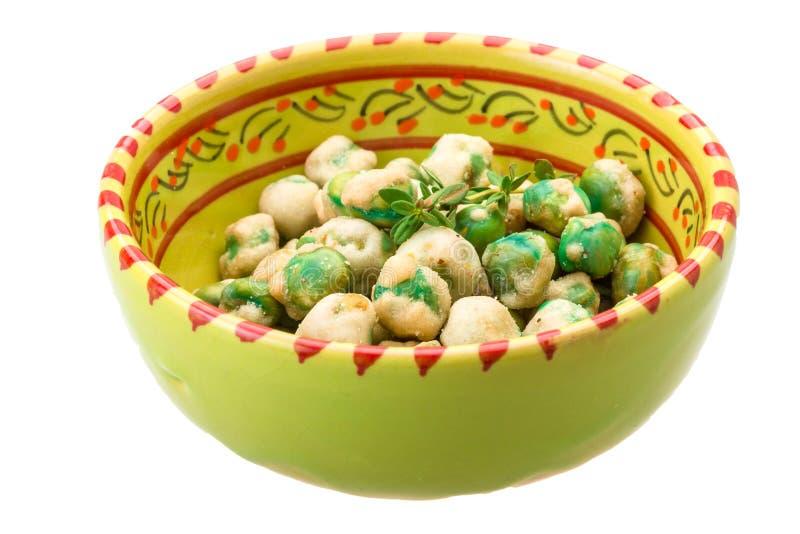 Download Crispy green peas stock photo. Image of coated, closeup - 39504048