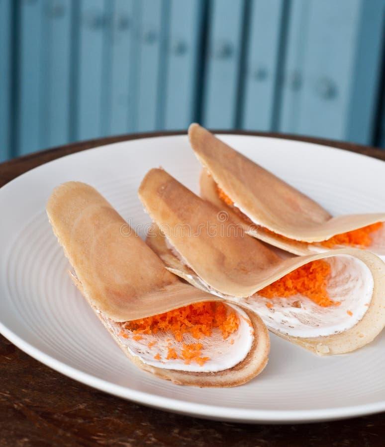 Crispy Pancakes Stock Photo