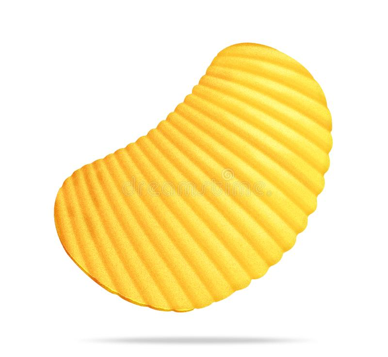 Crispy potatoes royalty free stock photo