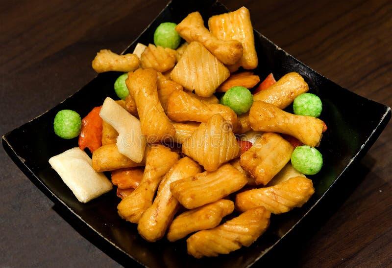 Download Crispy rice stock photo. Image of japan, crunchy, cake - 33589922