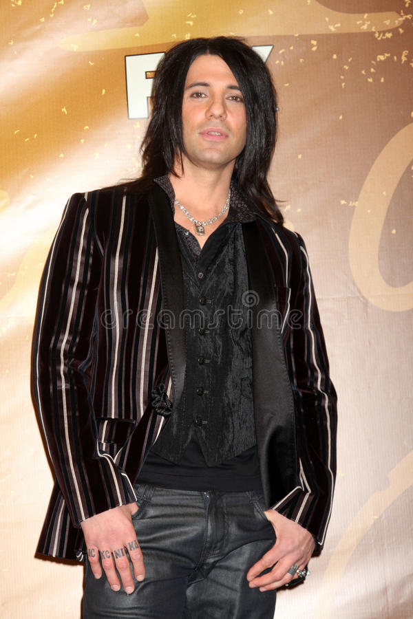 Criss Angel imagem de stock royalty free