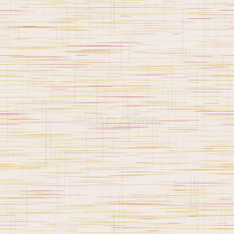 Criss Cross Weave Grainy Texture Фон, Рукокрасочная Фабрика Faux Linen С Сеткой Линии Отменено Trendy Homespun иллюстрация штока