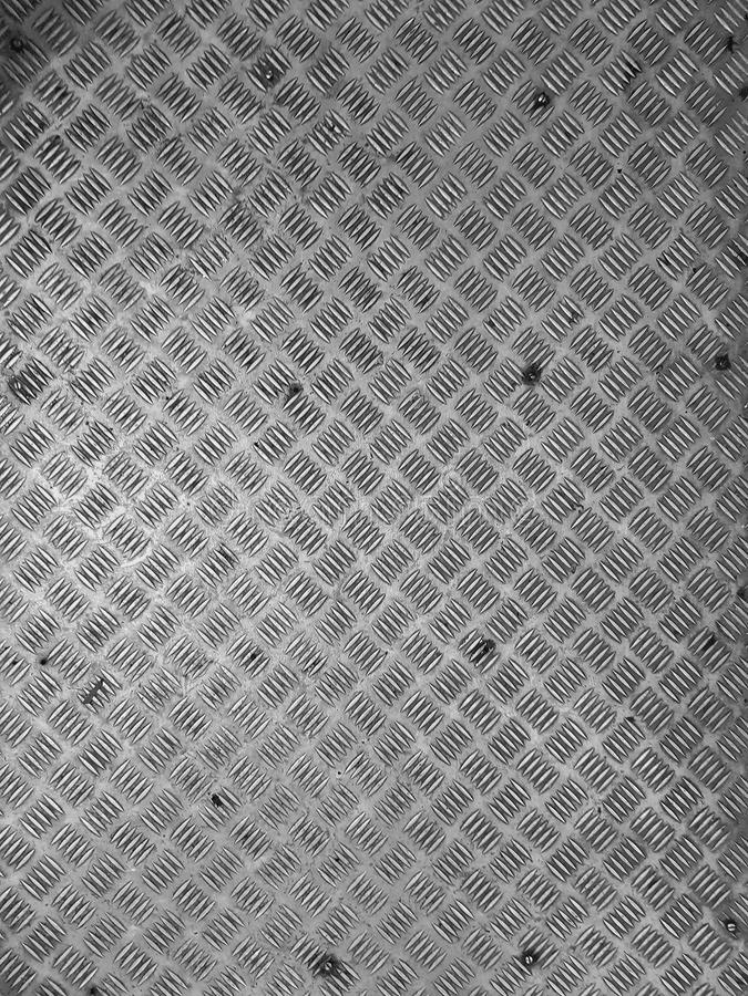 Criss kreuzen Bodenstahlantibeleggleiter-Musterhintergrund stockfotografie
