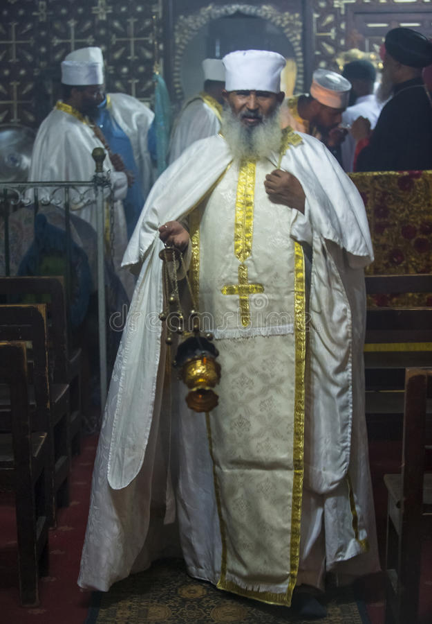 Cristãos etíopes imagem de stock royalty free