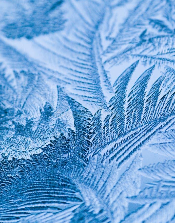 Cristais de gelo fotografia de stock