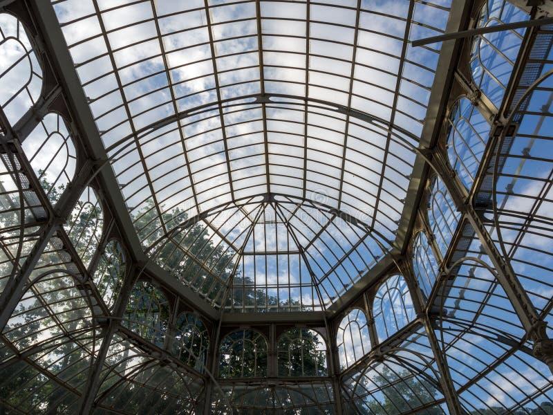 cristal дворец стоковое изображение