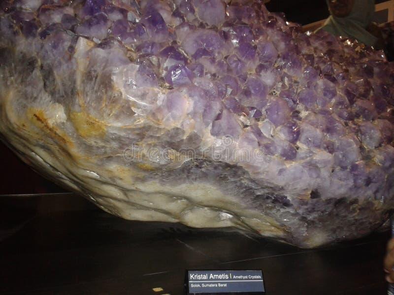 cristal fotografia stock