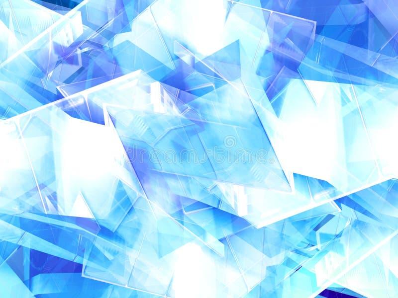 Cristal illustration de vecteur