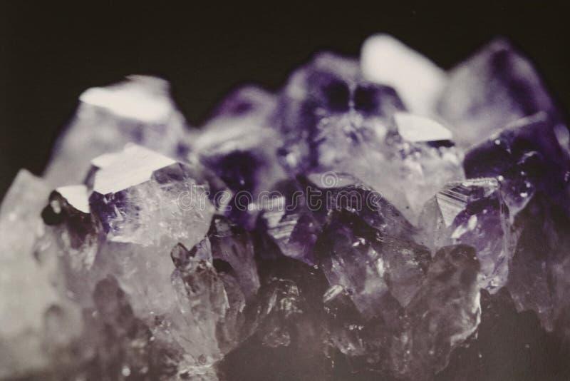 cristal amethyst photos libres de droits