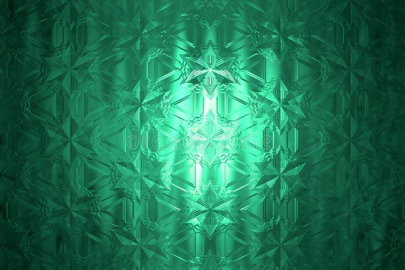 Cristal bonito ilustração royalty free