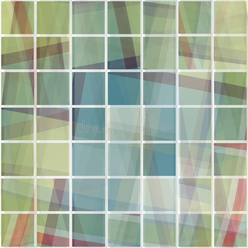 Cristal cassé illustration libre de droits
