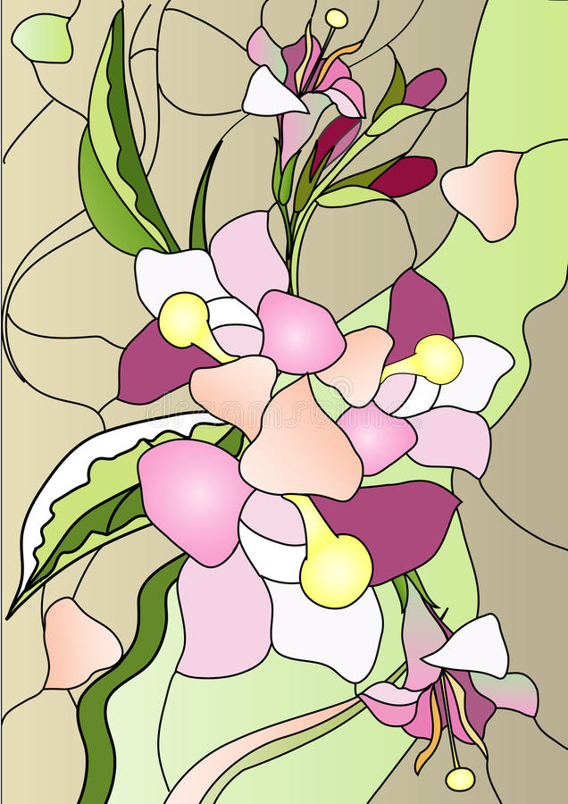 Cristal de colores libre illustration