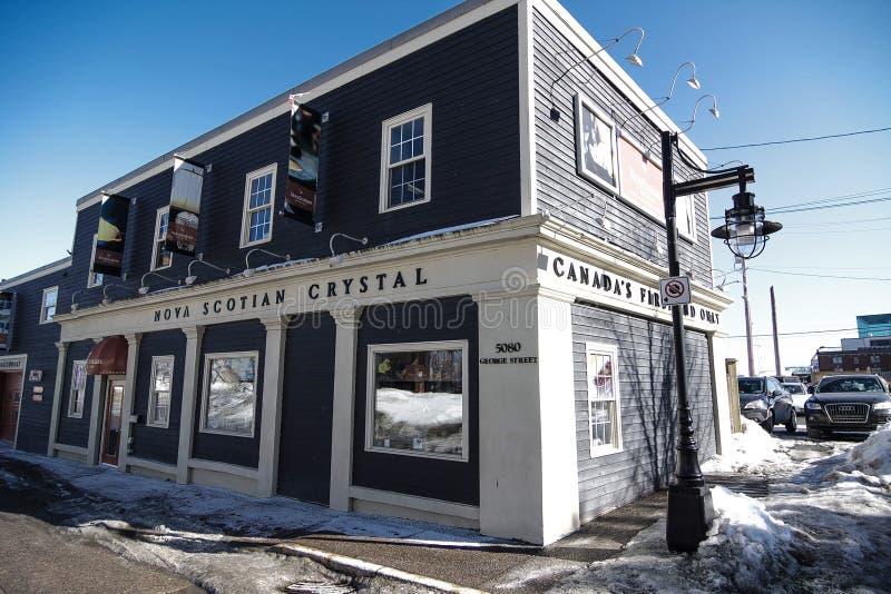 Cristal de Halifax la Nouvelle-Écosse photographie stock libre de droits