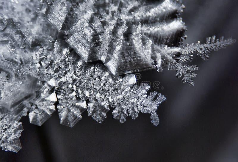 Cristal de hielo imagen de archivo libre de regalías