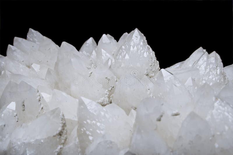 Cristal de quartz photo stock
