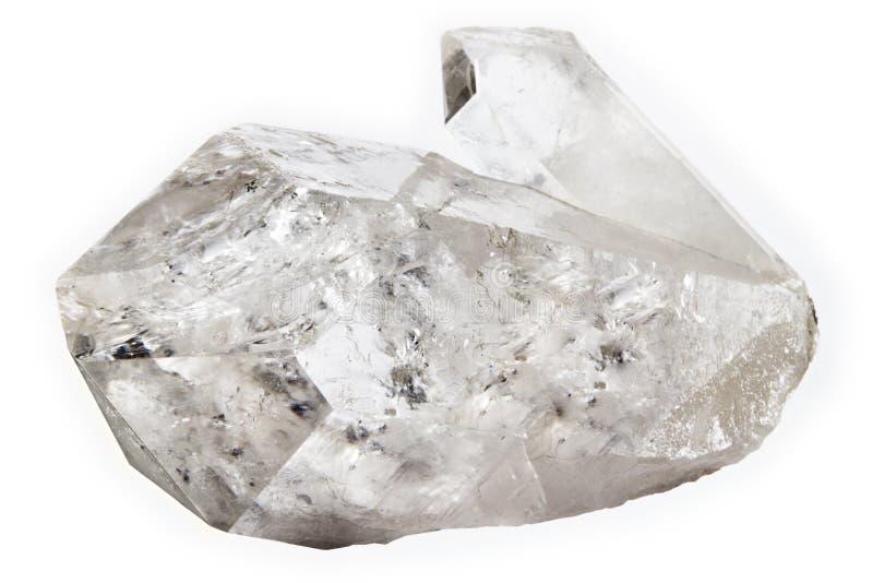 Cristal de quartzo fotografia de stock royalty free