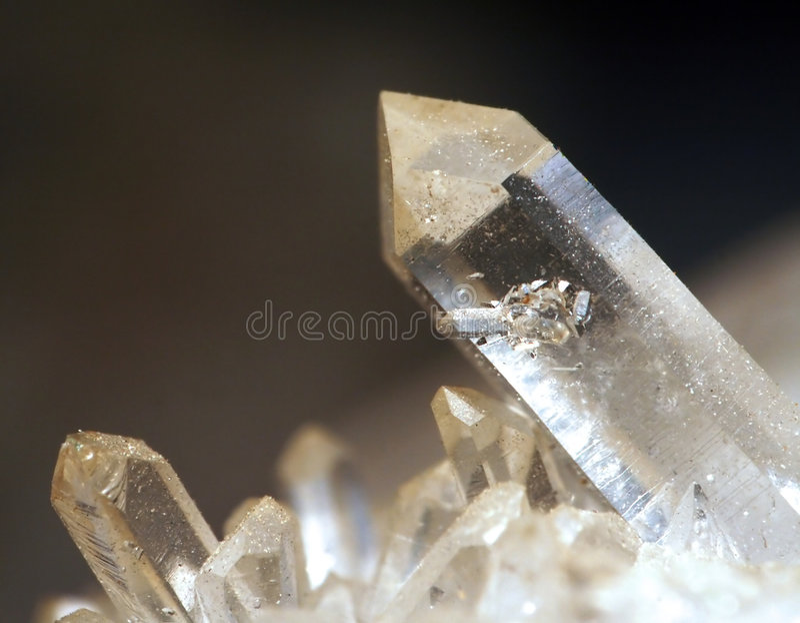 Cristal de roca imagen de archivo