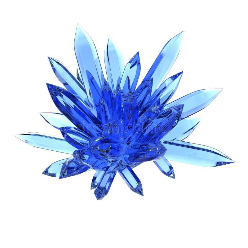 Cristal de roca ilustración del vector