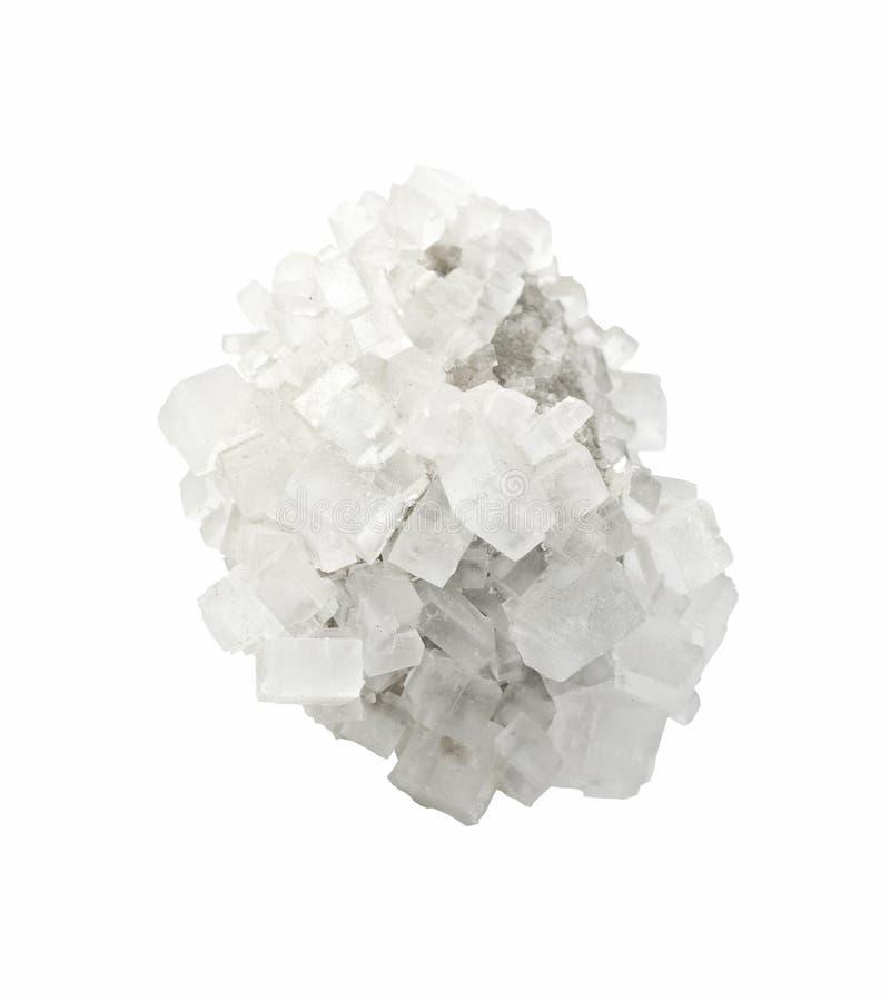 Cristal de sel minéral images stock