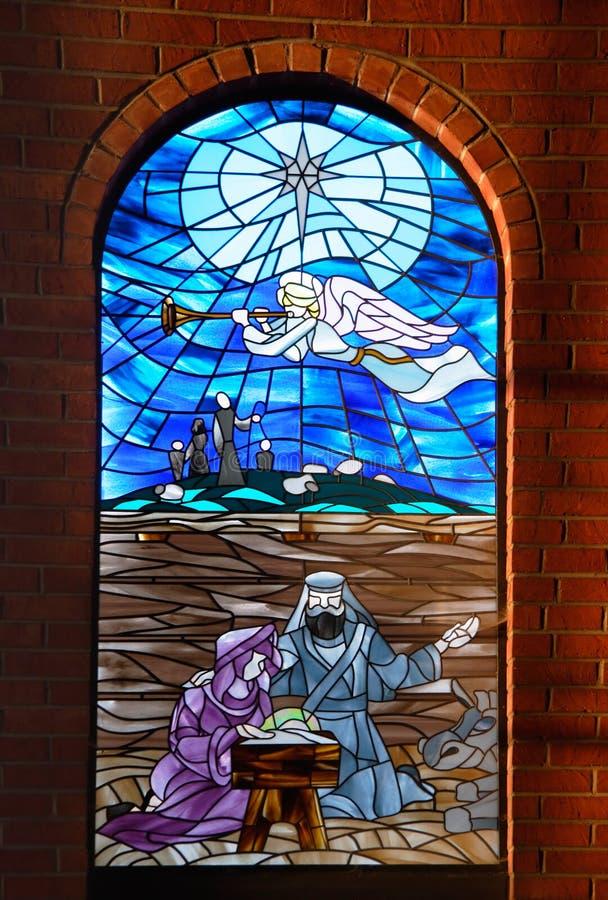 Cristal De Ventana De La Iglesia 2 Imágenes de archivo libres de regalías