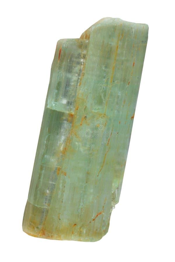 Cristal do Beryl imagens de stock royalty free