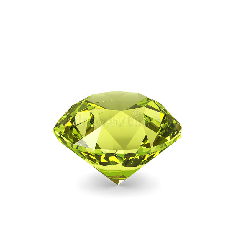 Cristal do diamante. ilustração royalty free
