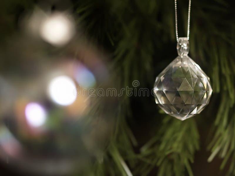 Cristal do Natal fotos de stock