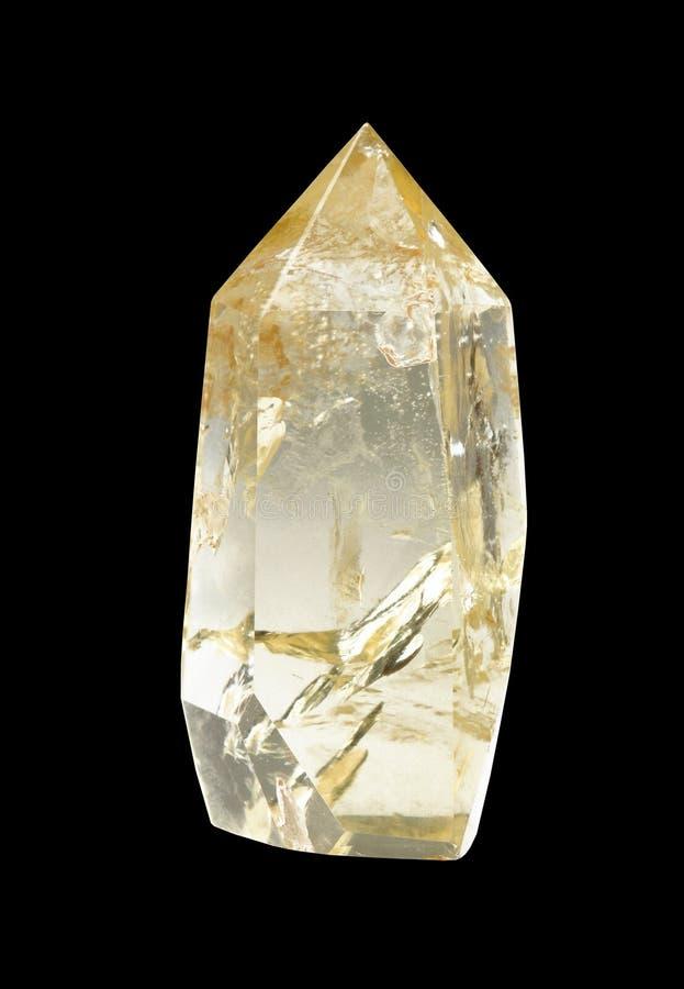 Download Cristal do quartzo foto de stock. Imagem de fundo, amostra - 12805558