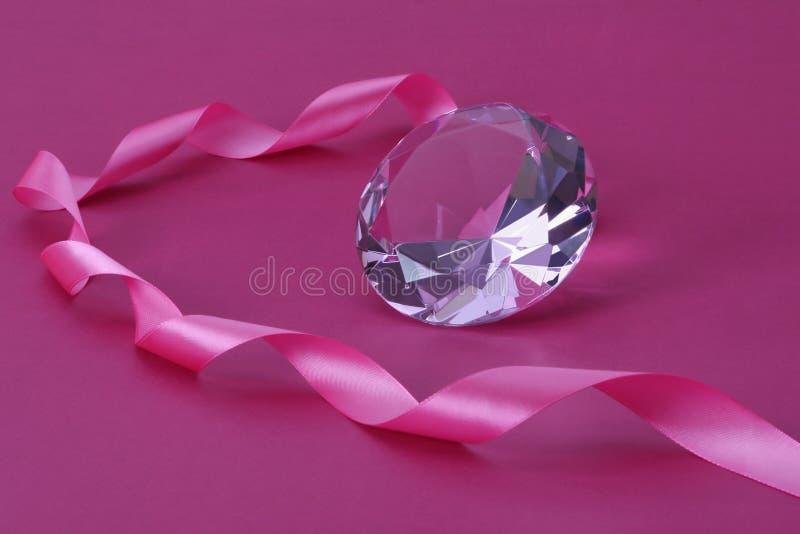Cristal e fita. foto de stock