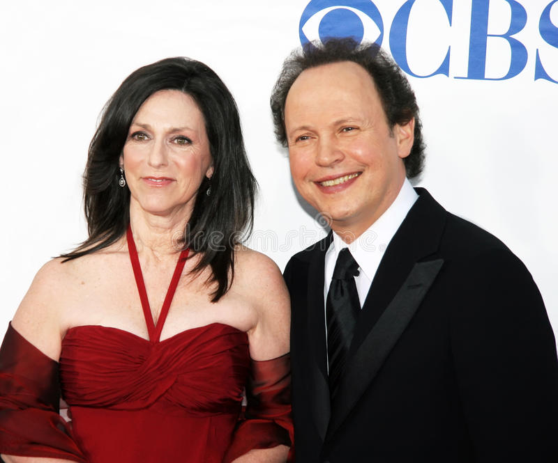 Cristal et Billy Crystal de Janice Goldfinger photo libre de droits