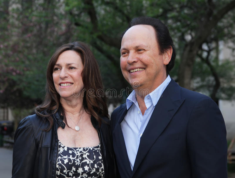 Cristal et Billy Crystal de Janice Goldfinger image stock