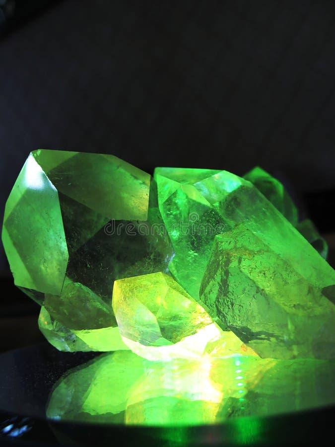 cristal góry obrazy stock