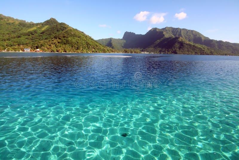 Cristal - l'eau claire photographie stock libre de droits