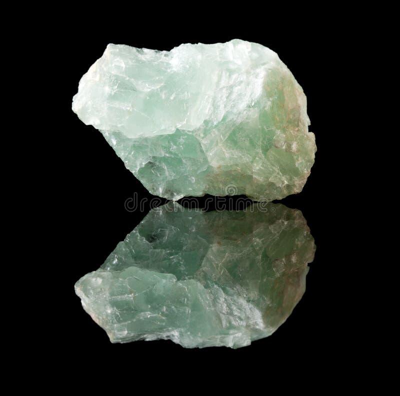 Cristal o mineral del fluorito imagen de archivo libre de regalías