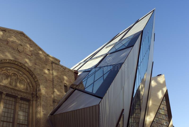 Cristal real del museo de Ontario imagenes de archivo