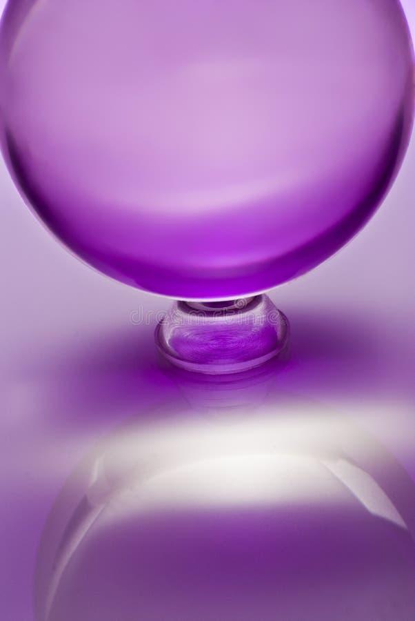 Cristal sfera zdjęcie stock