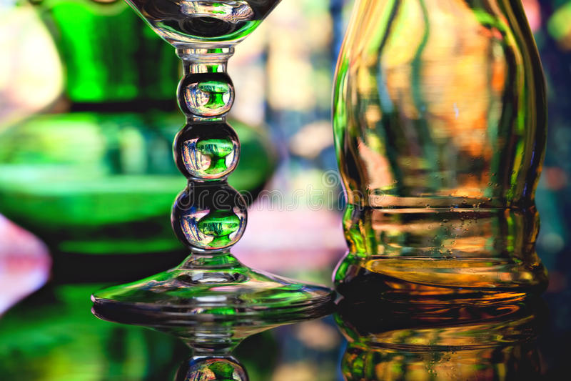 Cristalería foto de archivo libre de regalías