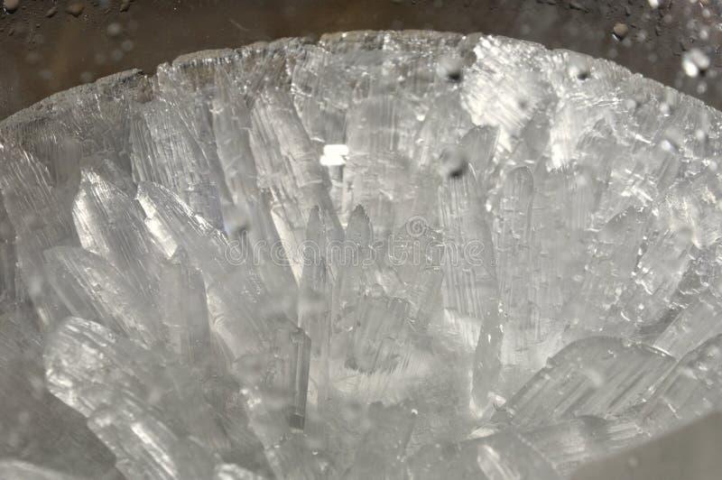 Cristales blancos imagen de archivo libre de regalías