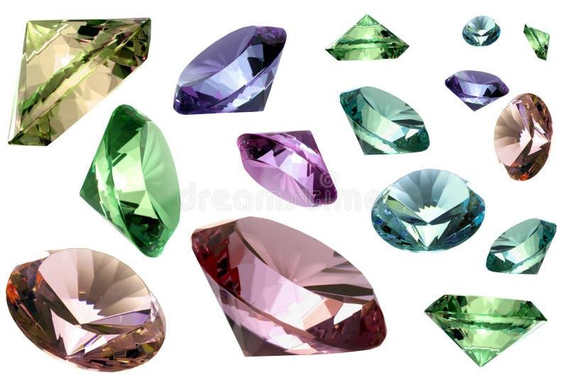 Cristales de cristal fotos de archivo libres de regalías