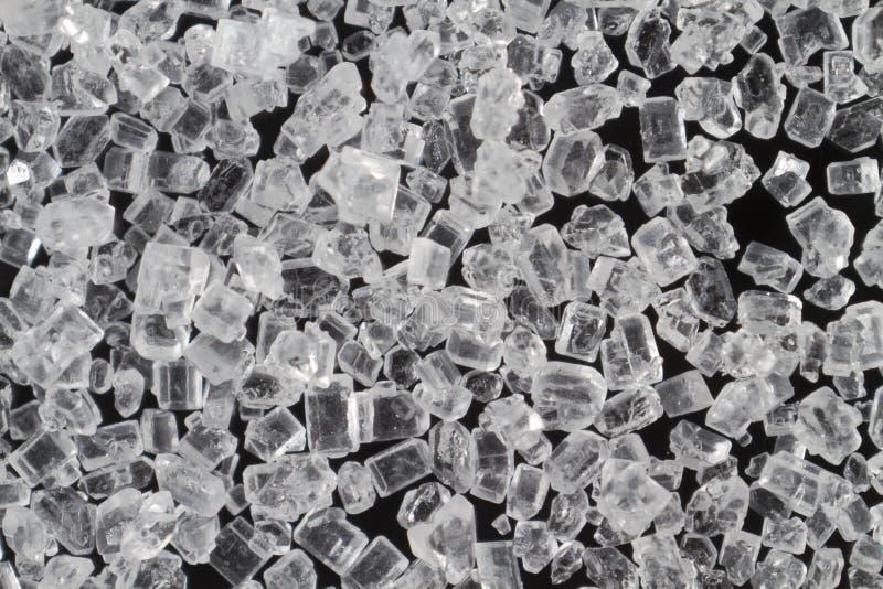 Cristales del azúcar imágenes de archivo libres de regalías