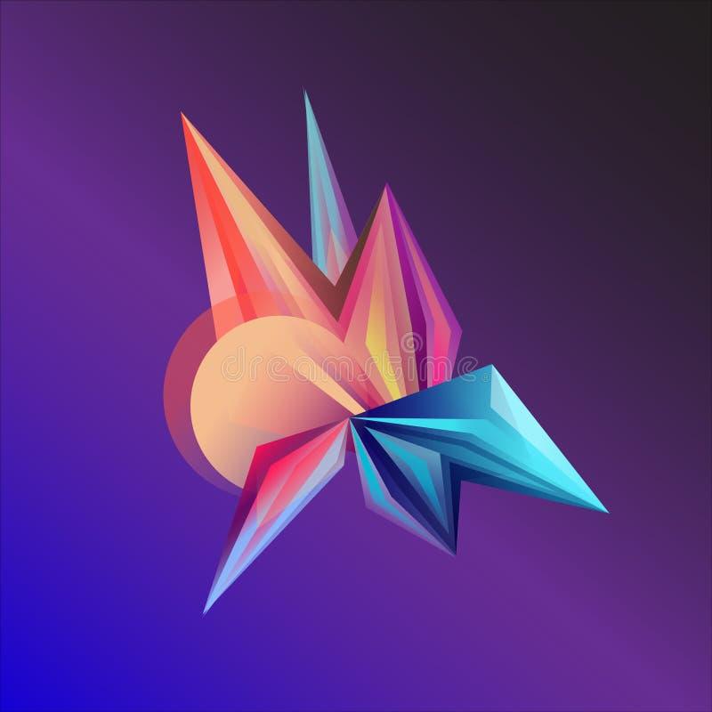 Cristales del olor del ¡de Ð ilustración del vector