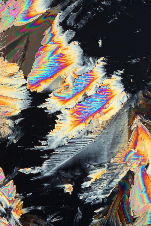 Cristales del sulfato de cobre imagen de archivo