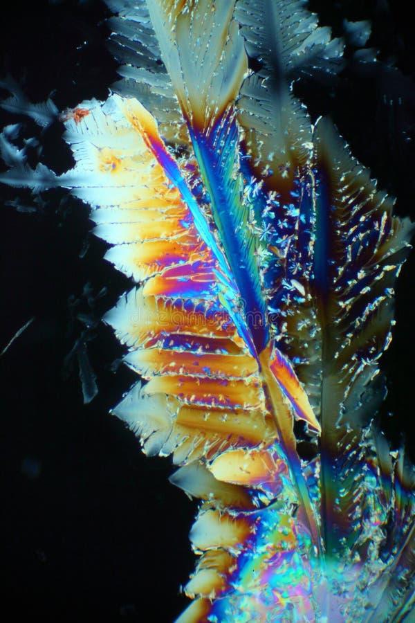 Cristales del sulfato de cobre foto de archivo libre de regalías
