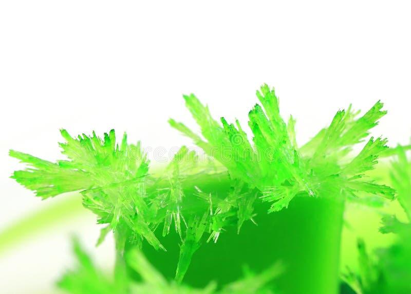 Cristales verdes claros agraciados imagenes de archivo