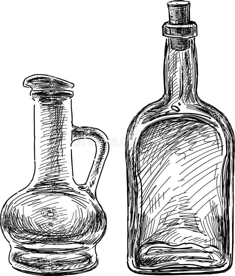 Cristalleria illustrazione vettoriale